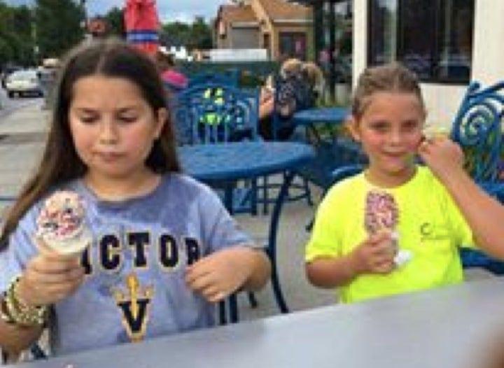 Ice Cream - July 2015: Inaugural Bike Ride