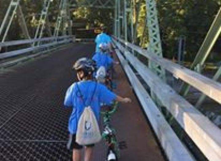 Walking Bike - August 2016 Bike Ride