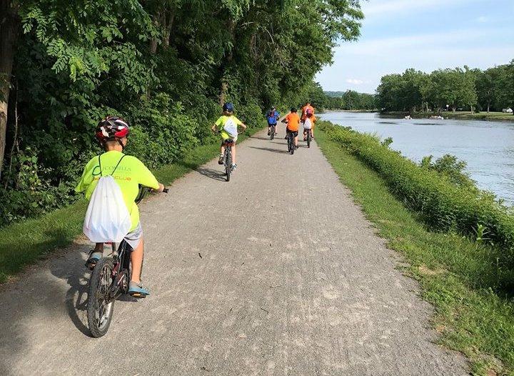 riding back - July 2017 Bike Ride