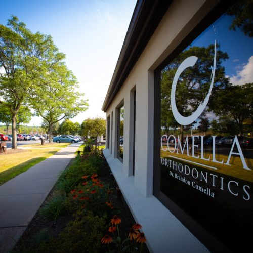 Comella Orthodontics 2019 Office Signage Rochester New York 111 500x500 - Check Out Our Offices