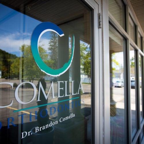 Comella Orthodontics Office Signage Victor New York 125 500x500 - Victor NY Orthodontic Office