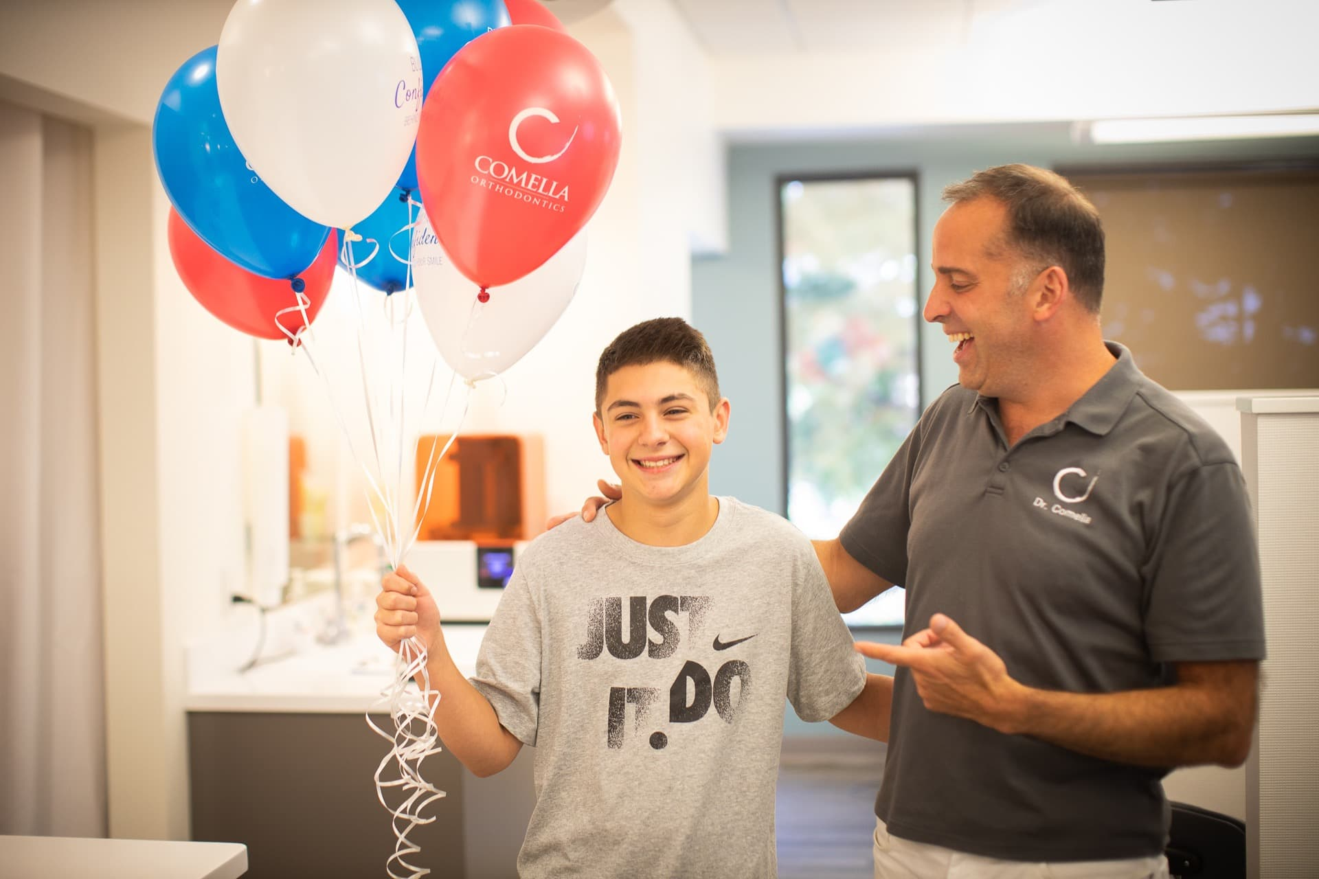 Comella Orthodontics Rochester New York Dr Comella Candids 43 - Experience MORE than Just Straightening Teeth