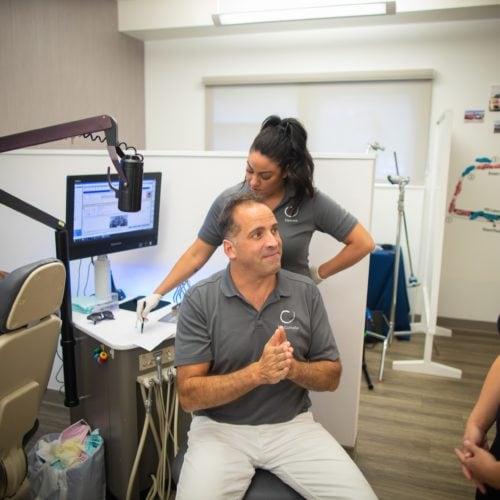 Comella Orthodontics Rochester New York Dr Comella Candids 57 500x500 - Meet Dr. Brandon Comella