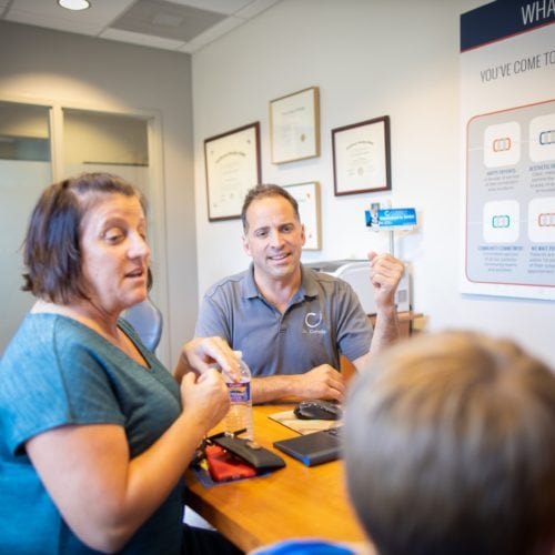 Comella Orthodontics Rochester New York Dr Comella Candids 60 500x500 - Orthodontic FAQs