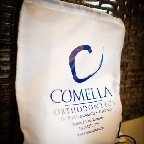 Comella Orthodontics Rochester New York Office Signage 24 500x500 - Brighton Rochester NY Orthodontic Office