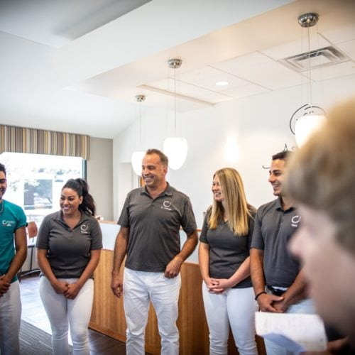 Comella Orthodontics Rochester New York Staff Candids 5 500x500 - Meet Dr. Brandon Comella