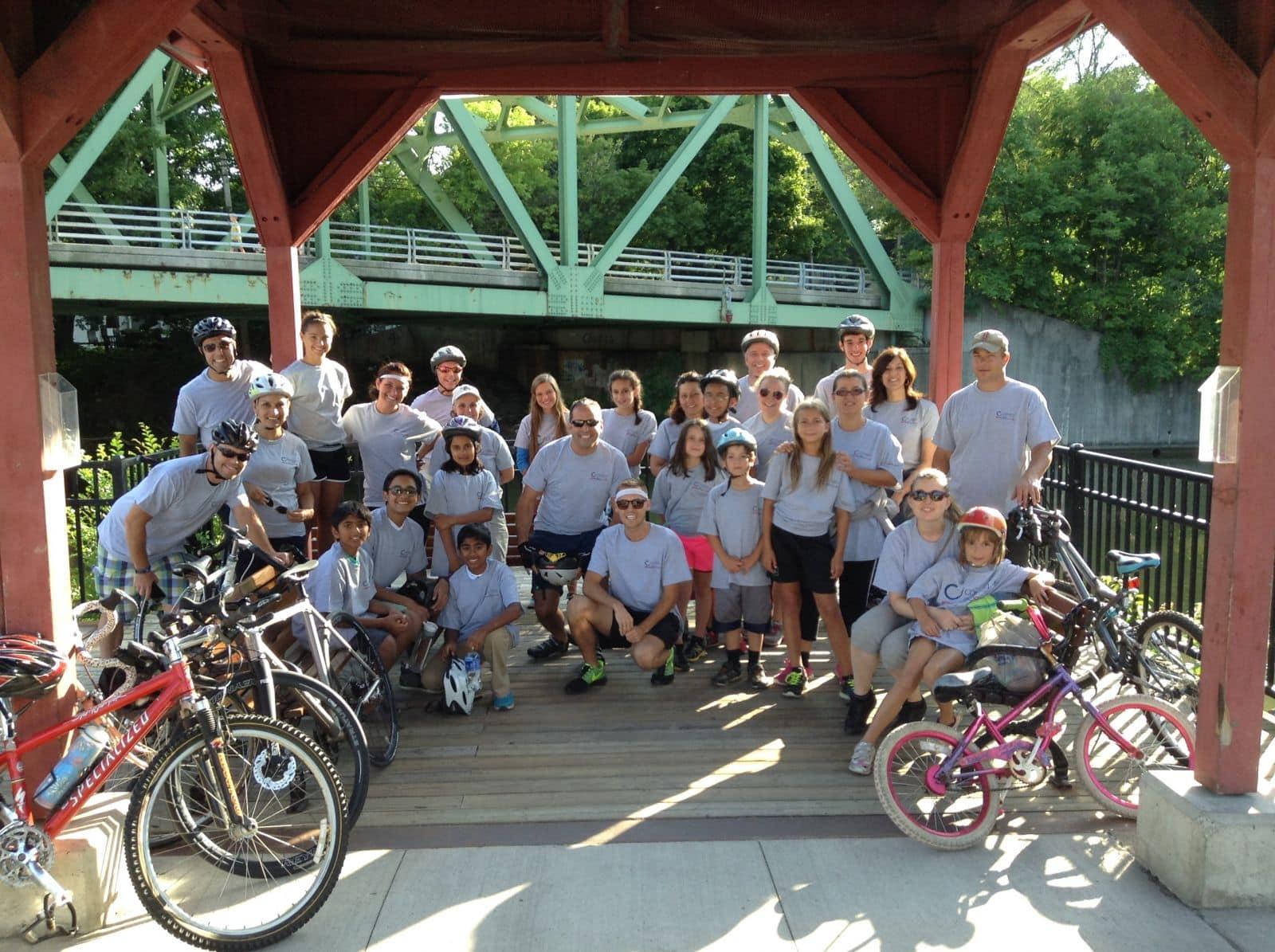 Group Picture Bike Club Ride July 151 - July 2015: Inaugural Bike Ride