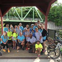big group - August 2016 Bike Ride