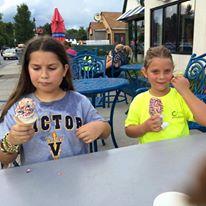 ice cream - August 2016 Bike Ride