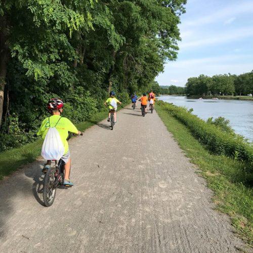 riding back 500x500 - July 2017 Bike Ride