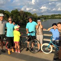 small group pic - August 2016 Bike Ride
